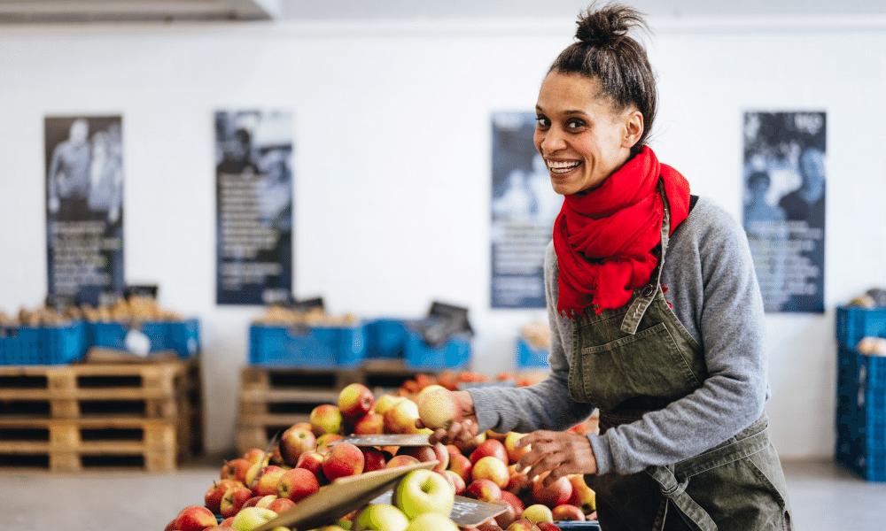"""Béa van BE O Antwerpen: """"Een veggiedag éénmaal tot meerdere keren per week is tegenwoordig meer regel dan uitzondering en dat voelen we."""""""