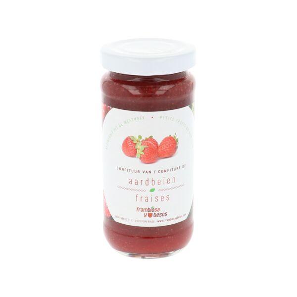 Gesuikerd Aardbeienconfituur (0,190 kg)