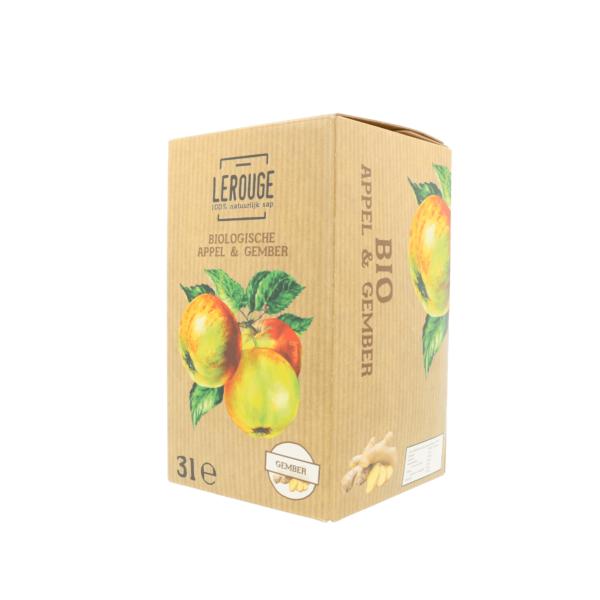Appelsap met gember (3 l)
