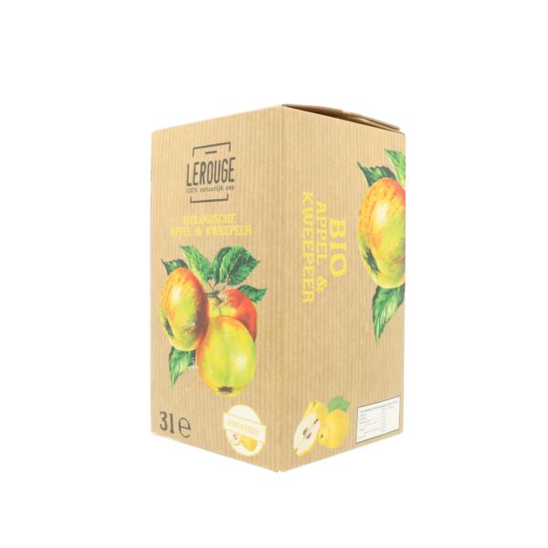 Appel-kweepeersap (3l)