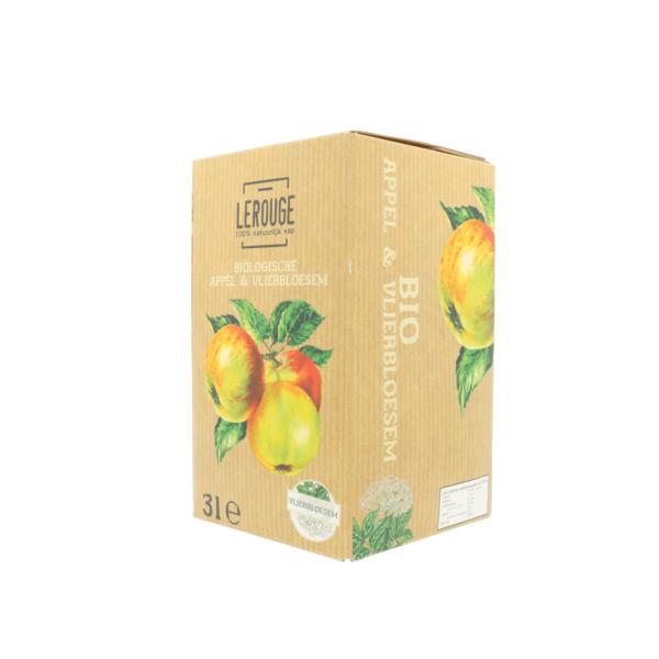 Appel-vlierbloesemsap (3l)