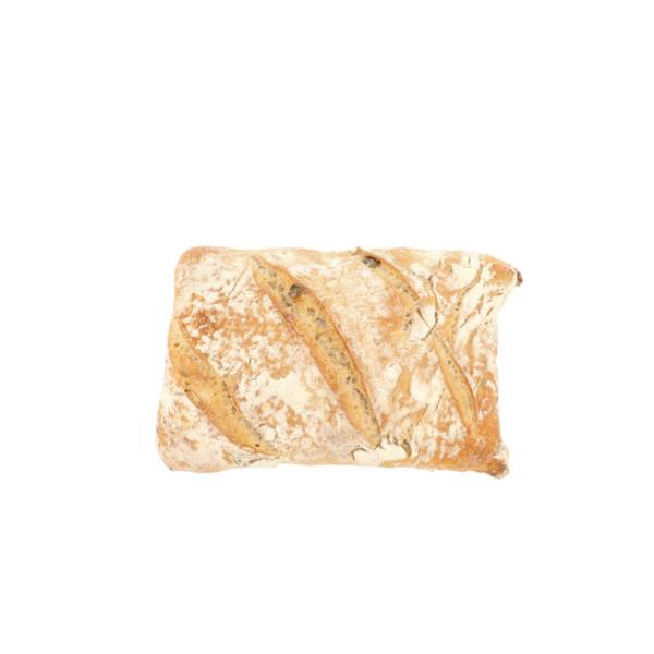 Pompoenpitbrood carré (+/- 0,250kg)