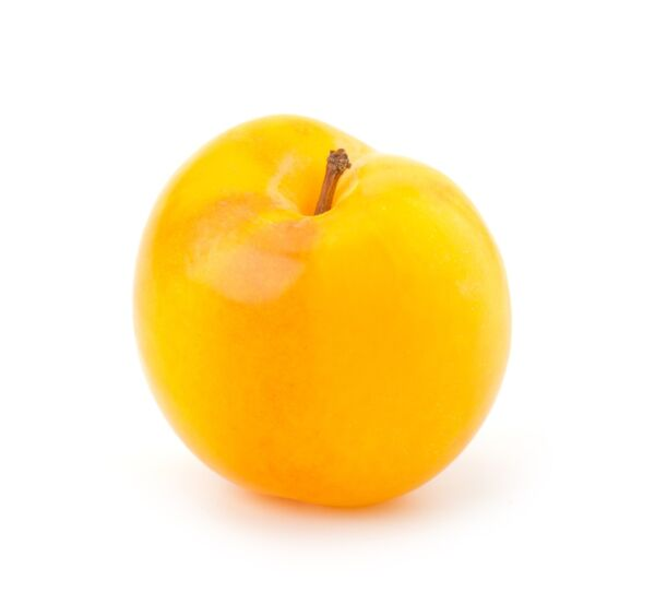 Gele pruimen