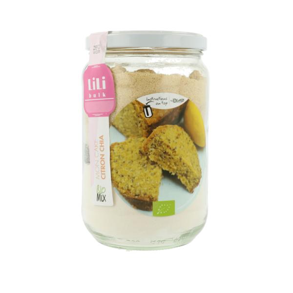 Lili Bulk - Mon cake citron et chia