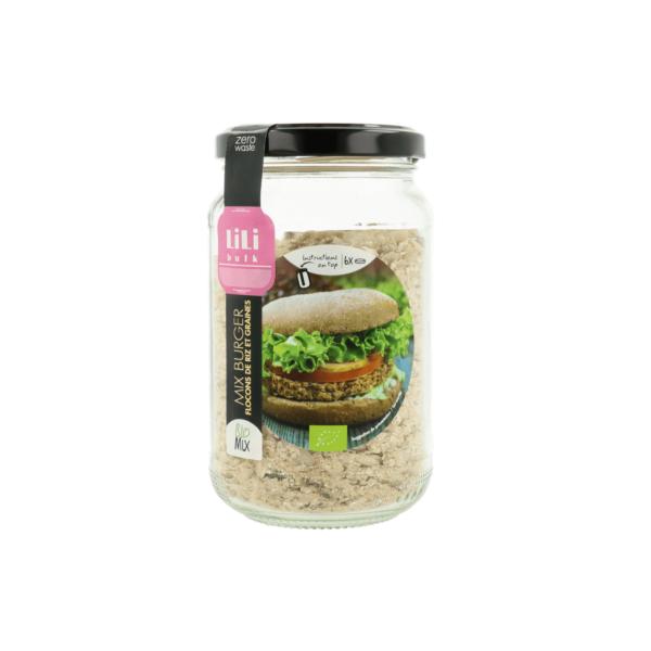 Lili Bulk - Burger flocons de riz et graines