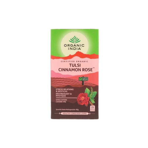 Tulsi cinnamon rose