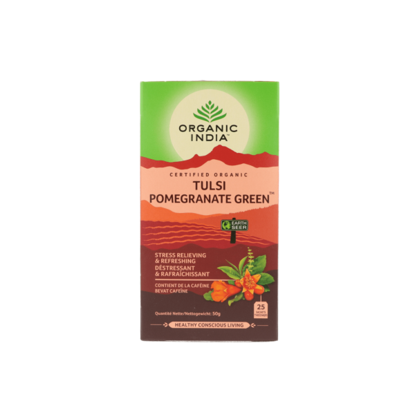 Tulsi pomegranate green