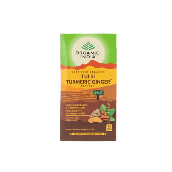 Tulsi turmeric ginger