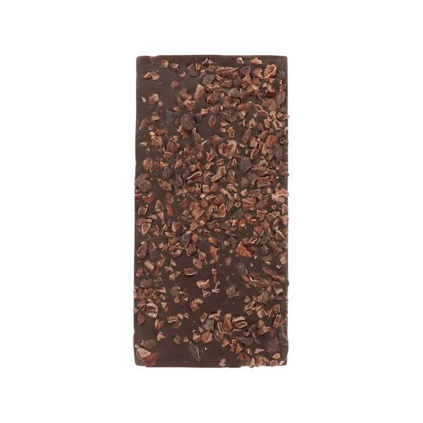 Pure chocolade met cacaonibs (0,090 kg)