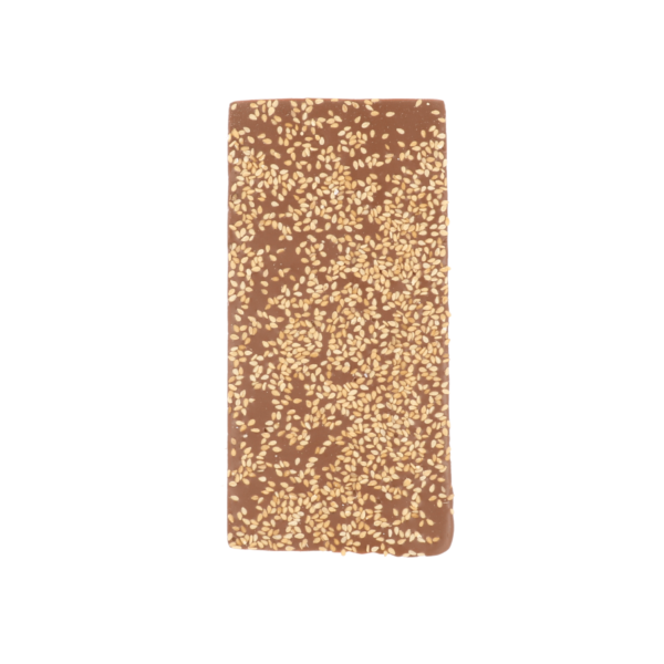 Melkchocolade met sesam (0,090 kg)