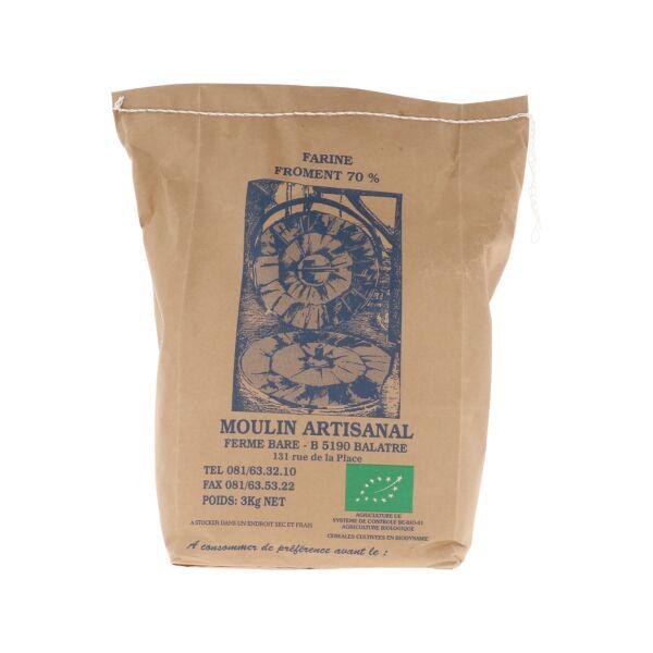 Tarwemeel 70% (3 kg)
