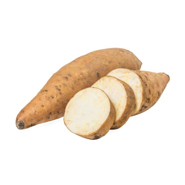 witte zoete aardappel  (+/- 0,600 kg)