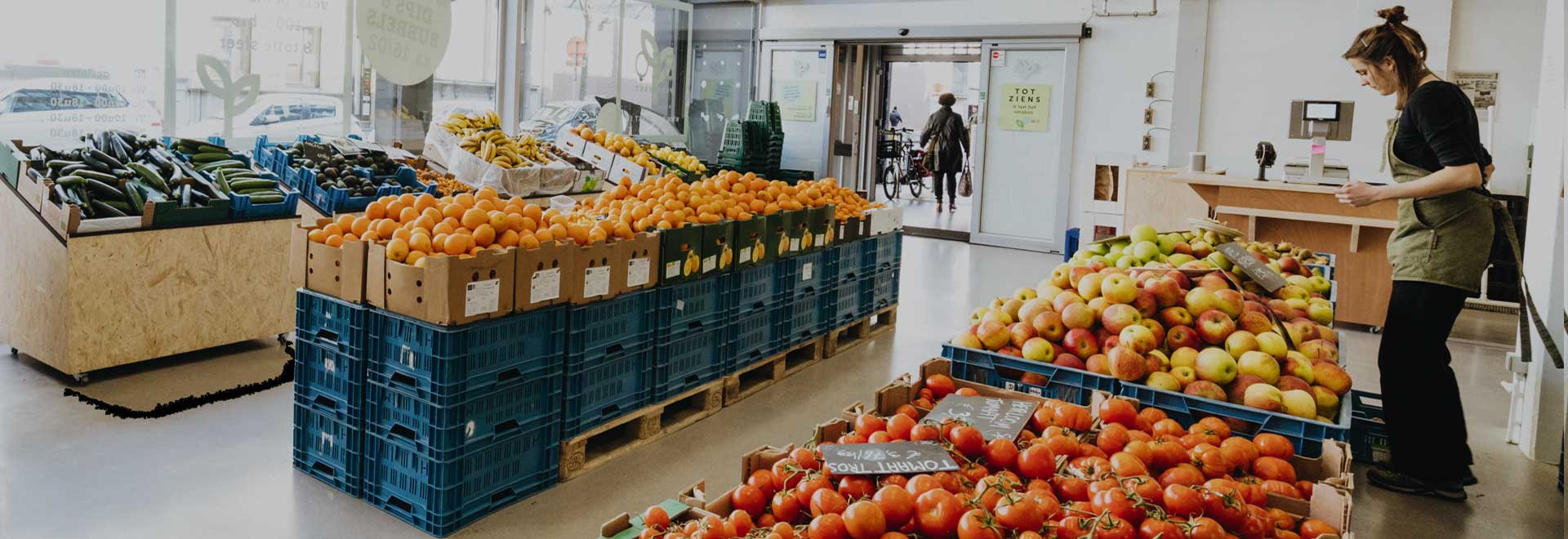 Koop je bioproducten bij BE O Versmarkt